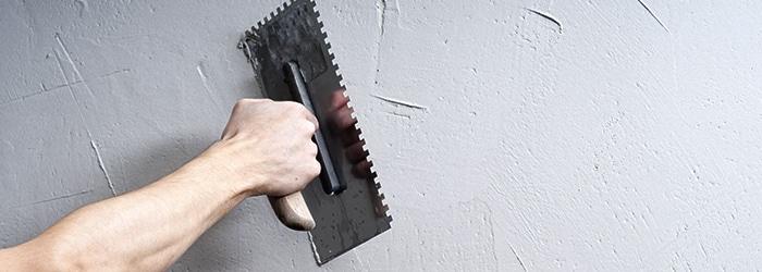 muur bepleisteren